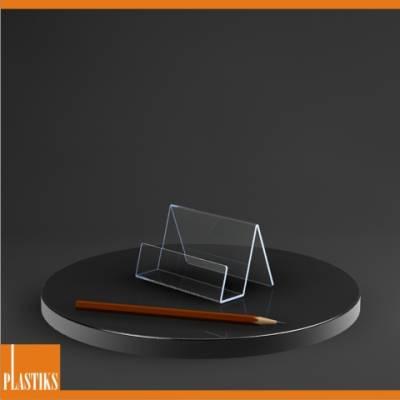 Acryl Tischaufsteller L Form A6 Hoch Acrylständer